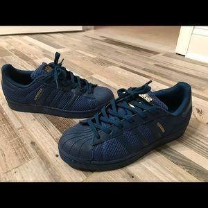 Royal Blue Adidas Superstar